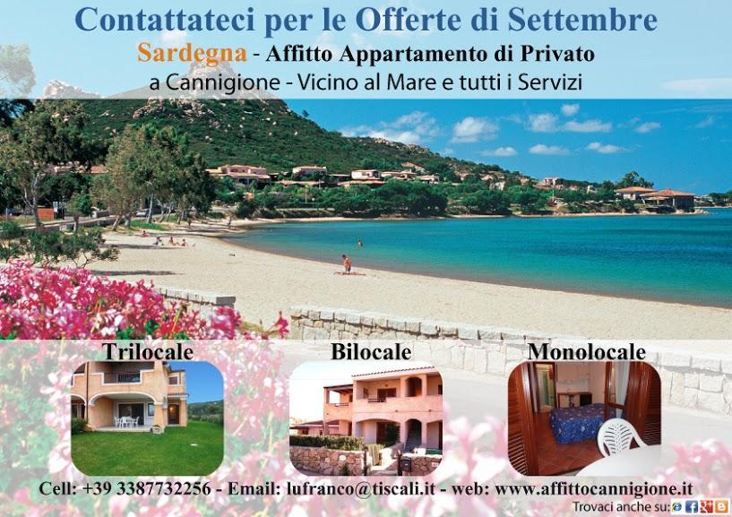 affitto appartamenti Sardegna a Cannigione / Costa Smeralda
